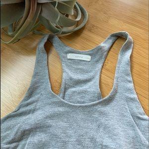 Lush gray maxi dress